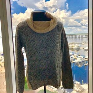 NWT by&by Cowl Neck Sweater